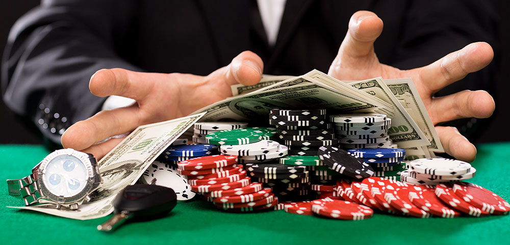 Gambling is always fun