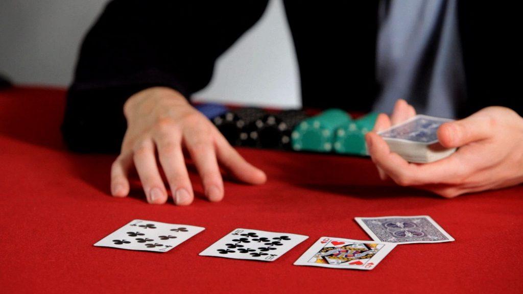 gambling games crossword